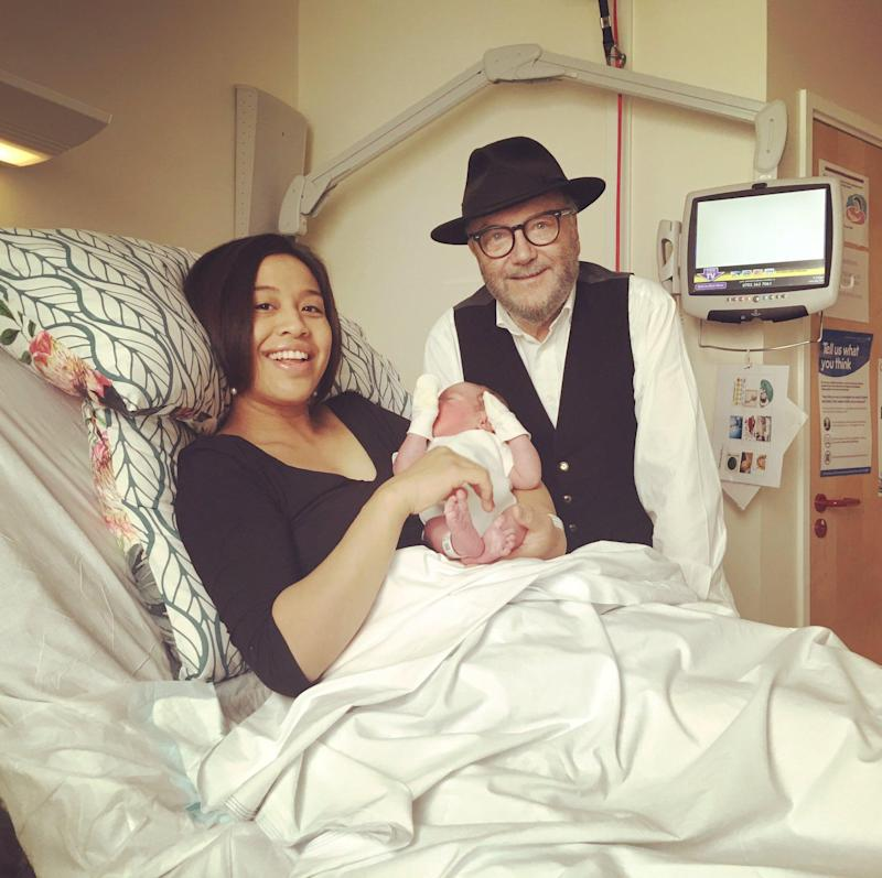 Baby Orlá is welcomed into the world by Mr Galloway and his wife Putri: @georgegalloway