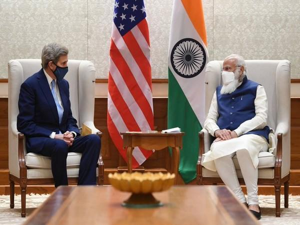 US Special Presidential Envoy on Climate John Kerry called on Prime Minister Narendra Modi on Wednesday.