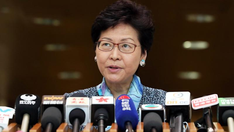 Chinese foreign ministry brands Hong Kong separatist Andy Chan deplorable for writing to Donald Trump.... while city leader Carrie Lam was lost for words