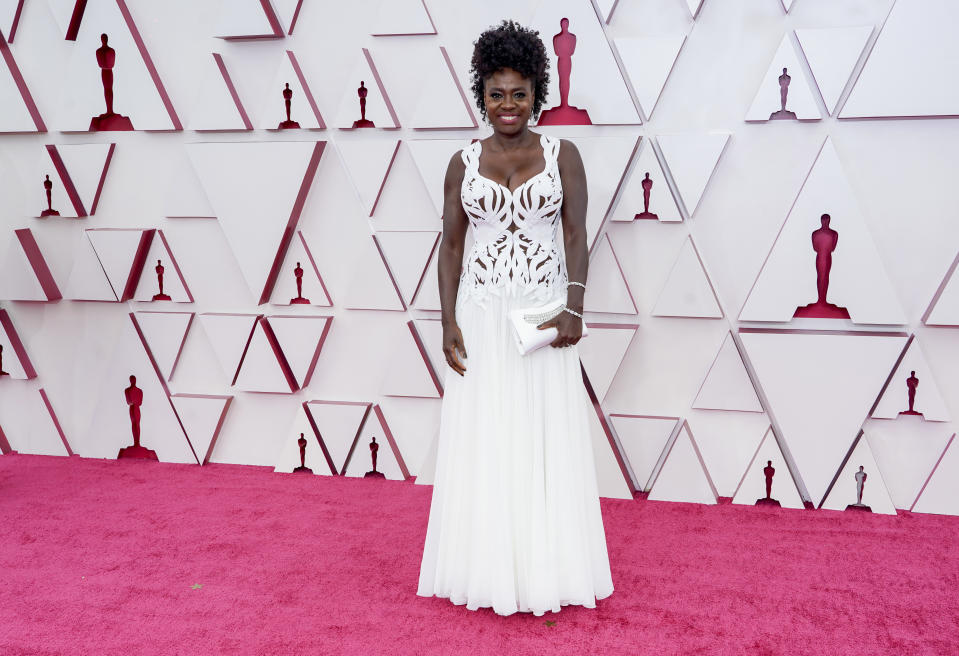 <p>Viola Davis attends. Foto: Chris Pizzelo-Pool/Getty Images</p>