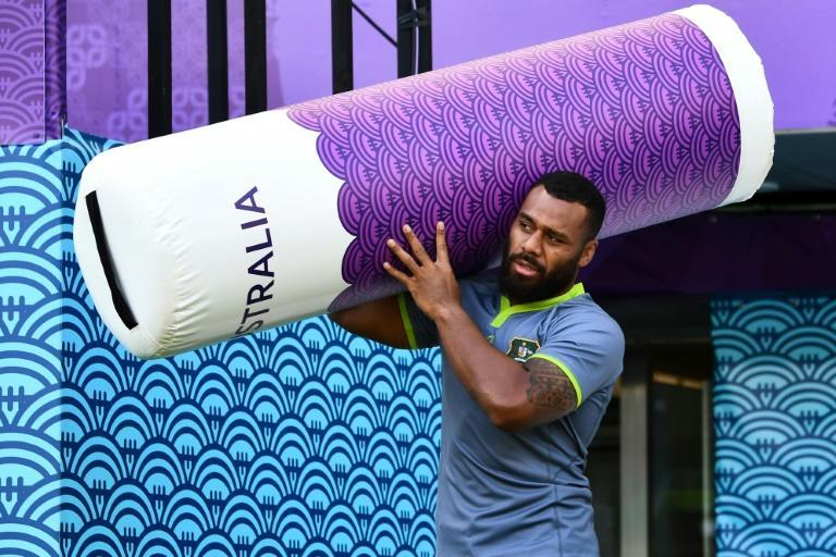 Samu Kerevi will make his first appearance for the Wallabies since the 2019 World Cup (AFP/Anne-Christine POUJOULAT)
