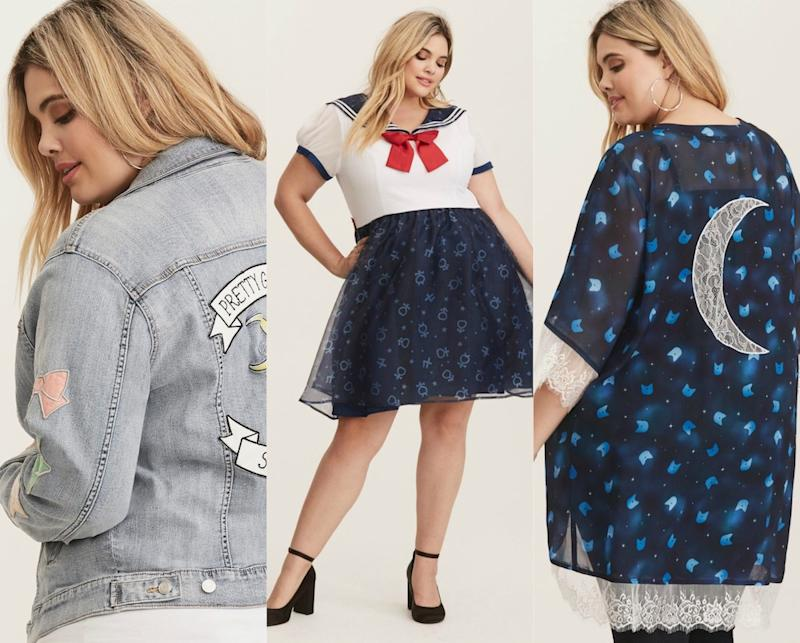 """Torrid's new """"Sailor Moon"""" collection will inspire the Sailor Scout"""