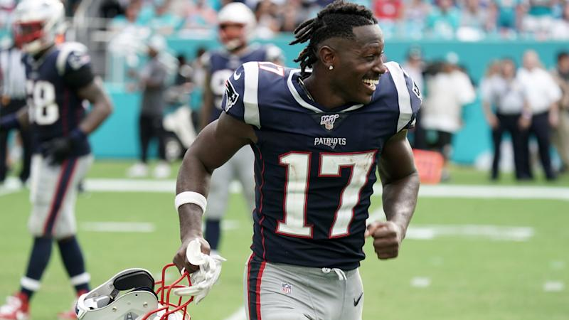 Antonio Brown drawing NFL teams' interest after Patriots release, agent says
