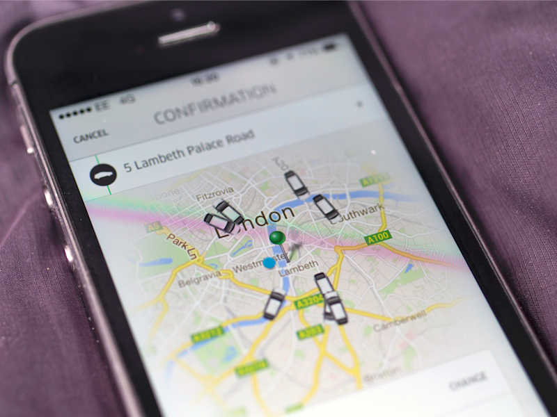 Uber introduces in-app tipping system