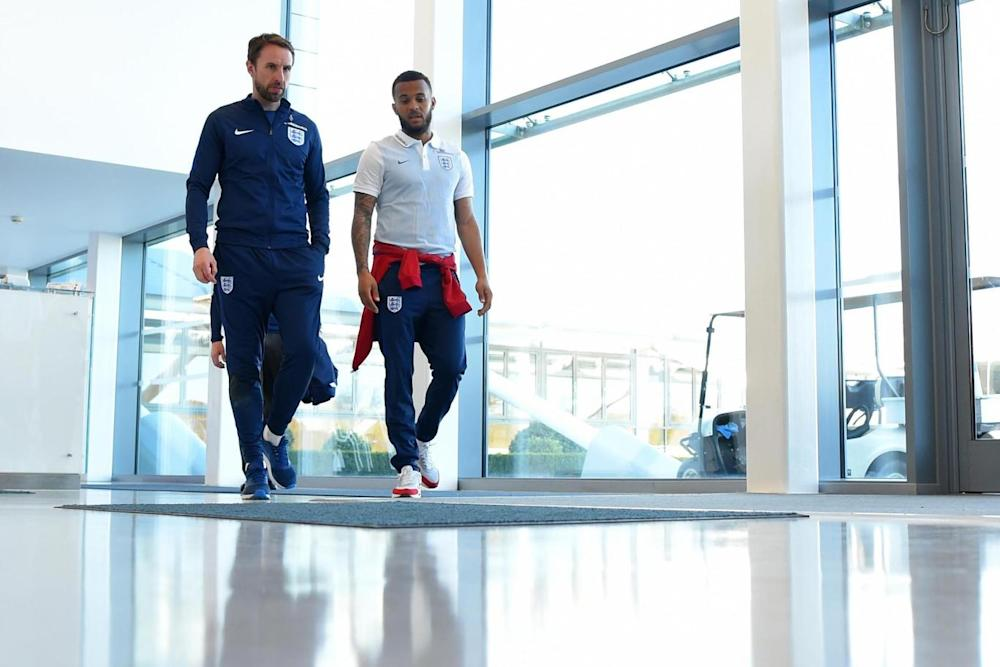 Boss | Gareth Southgate (left) has been praised by Ryan Betrand (right) (Getty Images)