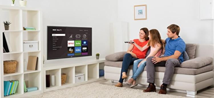 Gather your family around your new 4K TV. (Photo: Walmart)
