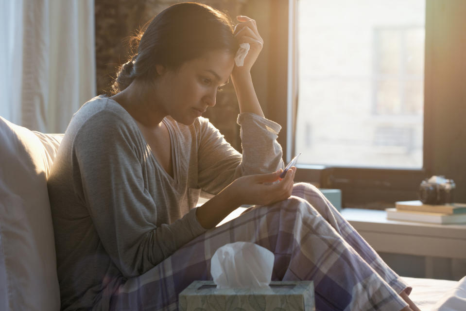 It can be difficult to know how to support someone who has had a miscarriage. (Posed by model, Getty Images)