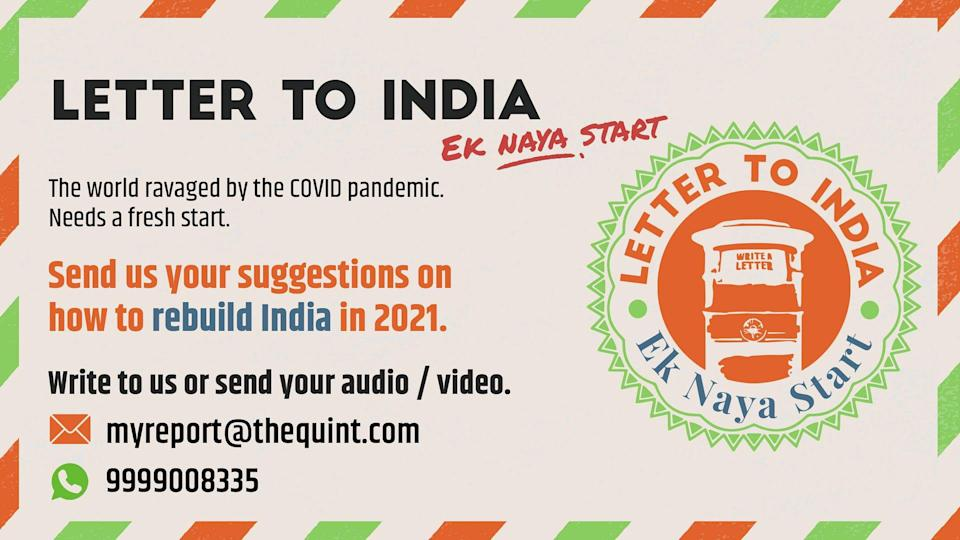 'Letter to India' - The Quint's Republic Day Campaign.