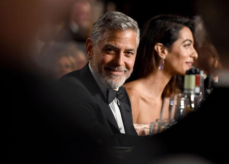 <p>Clooney and Amal Clooney attend the American Film Institute's 46th Life Achievement Award Gala Tribute to George Clooney at Dolby Theatre on June 7, 2018 in Hollywood, Ca.</p>