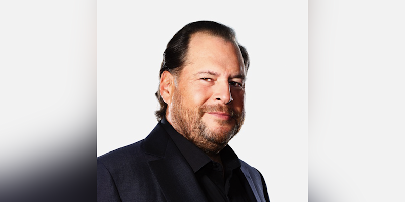 6) Marc Benioff, chair and CEO, Salesforce. Photo: Salesforce