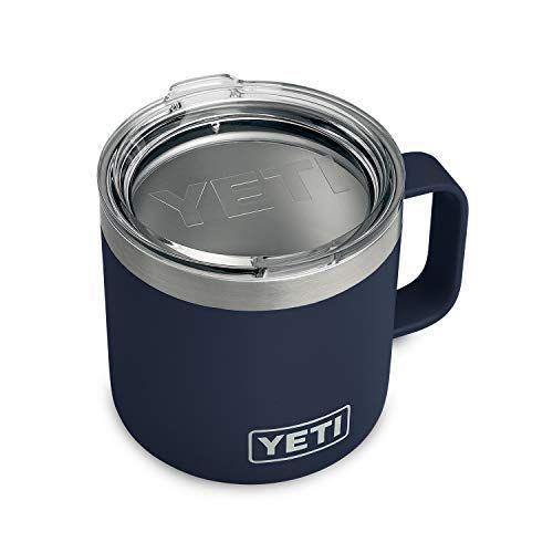 """<p><strong>YETI</strong></p><p>amazon.com</p><p><strong>$39.27</strong></p><p><a href=""""https://www.amazon.com/dp/B07FPWVVTN?tag=syn-yahoo-20&ascsubtag=%5Bartid%7C10050.g.32451842%5Bsrc%7Cyahoo-us"""" rel=""""nofollow noopener"""" target=""""_blank"""" data-ylk=""""slk:Shop Now"""" class=""""link rapid-noclick-resp"""">Shop Now</a></p><p>Your father-in-law can keep his coffee hot and his cocktail cool in this 14 oz. stainless steel mug. Double-wall vacuum insulation keeps drinks at the perfect temperature without outside condensation.</p>"""