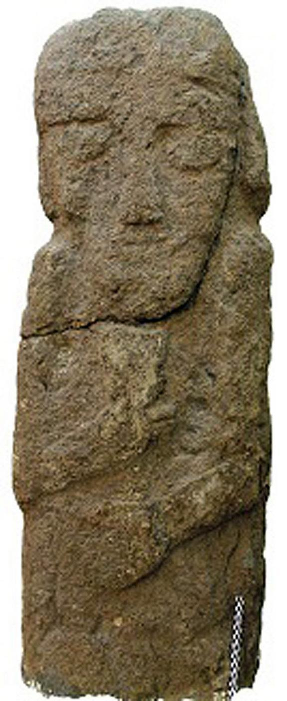 Several life-sized human statues of bearded males, dating back to the seventh or sixth centuries B.C., have also been discovered in Kurdistan.