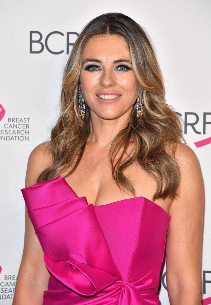 """<p>Another thing Elizabeth has been open about is how she's kept up with Hollywood beauty standards over the years. """"Plastic surgery? I'd be too scared. Fillers? Forget about it! But I have had Botox in my forehead,"""" Elizabeth told <a href=""""https://graziadaily.co.uk/celebrity/news/elizabeth-hurley-luxe-issue/"""" rel=""""nofollow noopener"""" target=""""_blank"""" data-ylk=""""slk:Grazia Daily"""" class=""""link rapid-noclick-resp"""">Grazia Daily</a> in 2018.<br></p>"""