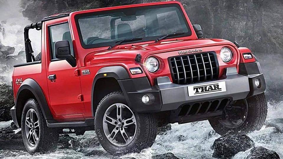 In November, Mahindra delivered 2,569 units of the Thar