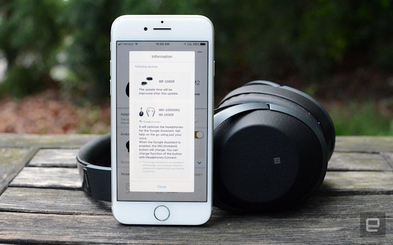 Sony makes it easier to use Google Assistant on existing headphones