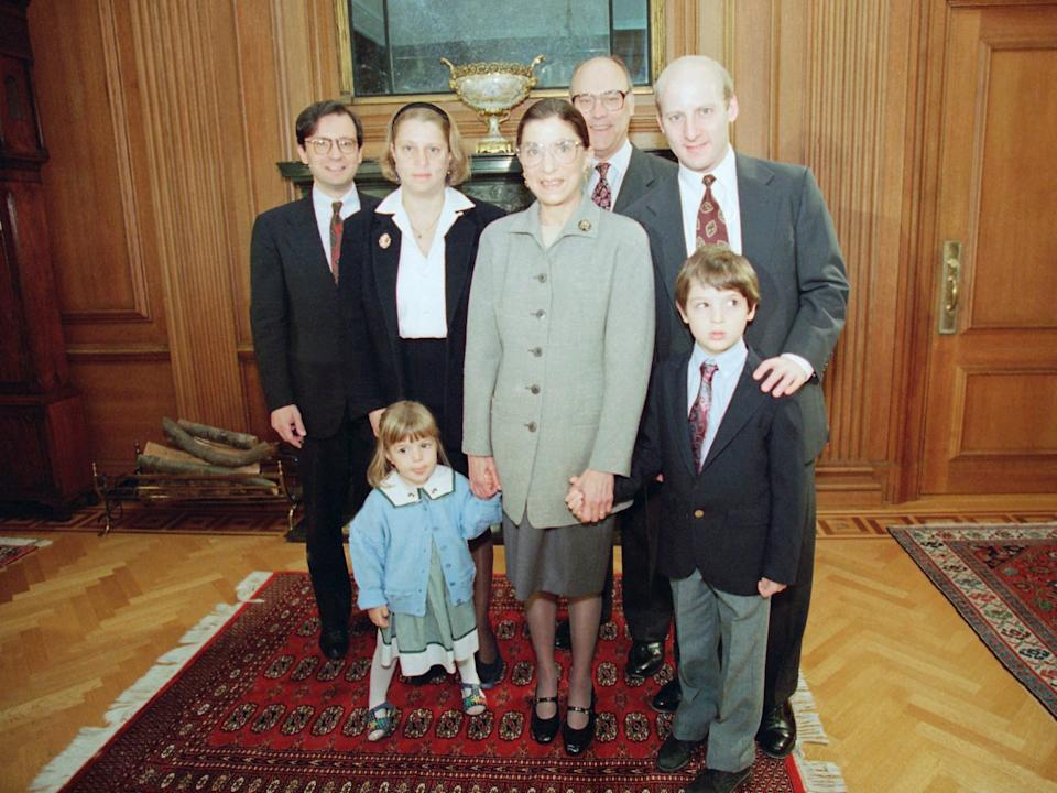 ginsburg and family 1993