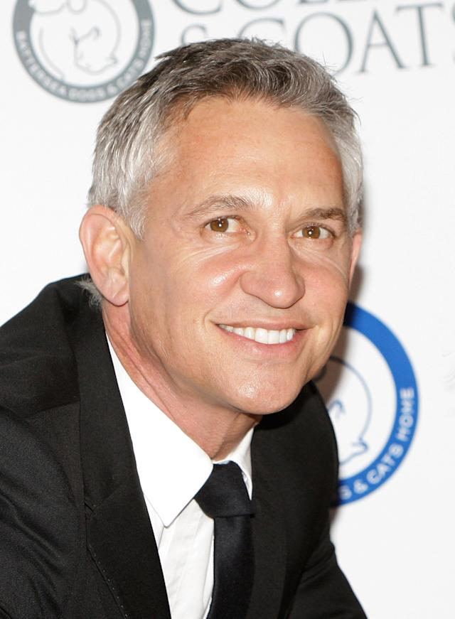LONDON, UNITED KINGDOM - NOVEMBER 08: Gary Lineker attends the Collars & Coats Gala Ball at Battersea Evolution on November 8, 2012 in London, England. (Photo by Jo Hale/Getty Images)