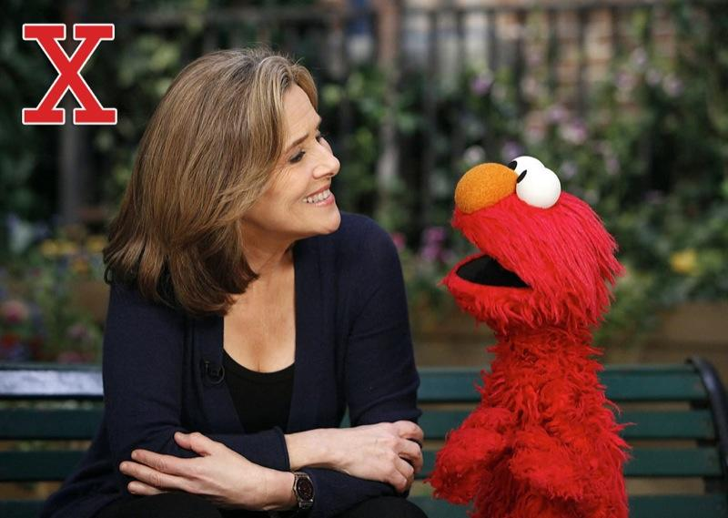 """X is for X-overs (crossovers): <a href=""""/sesame-street/show/33526"""">""""Sesame Street""""</a> is known for its guest stars, but it isn't a stranger to being a guest star itself. The gang from the Street has appeared on <a href=""""/scrubs/show/33475"""">""""Scrubs,""""</a> <a href=""""/between-the-lions/show/29061"""">""""Between the Lions,""""</a> <a href=""""/the-colbert-report/show/38498"""">""""The Colbert Report,""""</a> """"The Electric Company,"""" """"Emeril Live,"""" """"Paula's Party,"""" """"Fanfare,"""" <a href=""""/the-flip-wilson-show/show/30484"""">""""The Flip Wilson Show,""""</a> <a href=""""/the-frugal-gourmet/show/30587"""">""""The Frugal Gourmet,""""</a> <a href=""""/hollywood-squares/show/31064"""">""""Hollywood Squares,""""</a> <a href=""""/jeopardy/show/31376"""">""""Jeopardy!,""""</a> <a href=""""/deal-or-no-deal/show/36604"""">""""Deal or No Deal,""""</a> """"Martha,"""" <a href=""""/martha-stewart-living/show/32009"""">""""Martha Stewart Living,""""</a> <a href=""""/mr-rogers-39-neighborhood/show/32283"""">""""Mister Rogers' Neighborhood,""""</a> """"Soul Man,"""" """"The Torkelsons,"""" <a href=""""/the-muppet-show/show/32307"""">""""The Muppet Show,""""</a> <a href=""""/the-west-wing/show/260"""">""""The West Wing,""""</a> """"What's My Line?,"""" and numerous talk shows and mornings shows, ranging from """"The Ed Sullivan Show"""" to <a href=""""/today/show/34211"""">""""The Today Show.""""</a> <a href=""""http://www.zap2it.com/"""" rel=""""nofollow"""">Source: Zap2it</a>"""