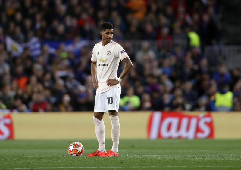 Gary Lineker reacts to Man United's 3-0 loss to FC Barcelona