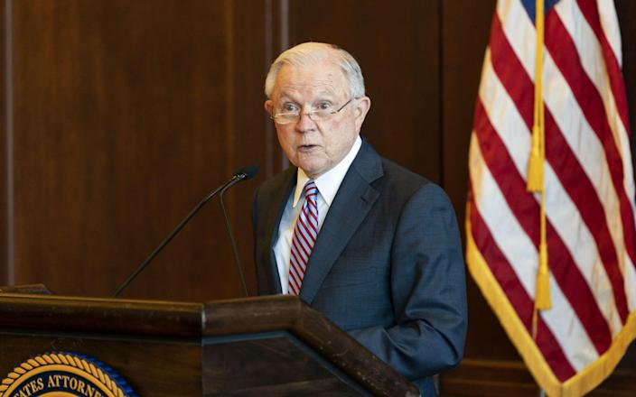 Jeff Sessions quoted Romans - Getty Images North America