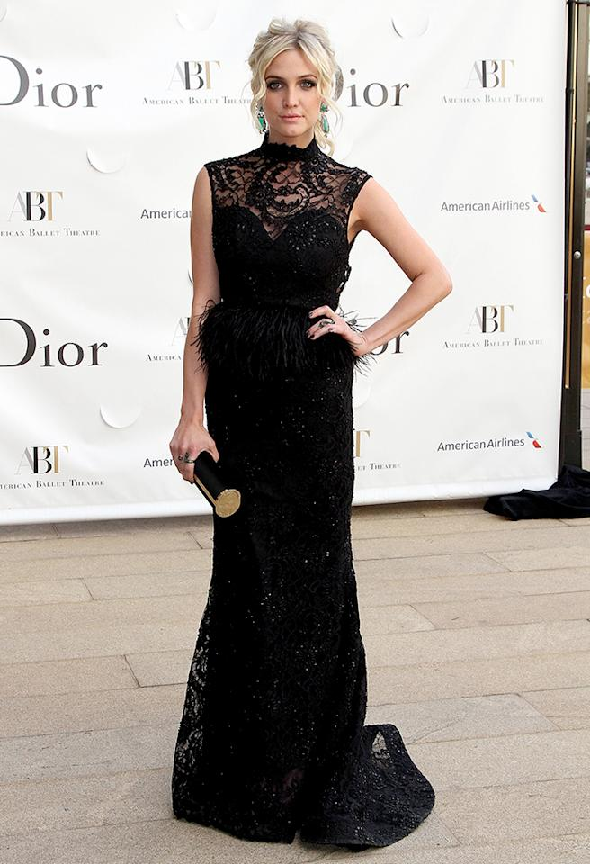 NEW YORK, NY - MAY 13:  Ashlee Simpson attends the 2013 American Ballet Theatre Opening Night Spring Gala at Lincoln Center on May 13, 2013 in New York City.  (Photo by Monica Schipper/FilmMagic)