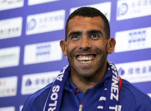 Fit-again Carlos Tevez back in China after Argentina stay