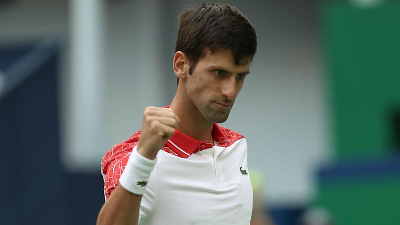 Djokovic faces Federer's conqueror in Shanghai final
