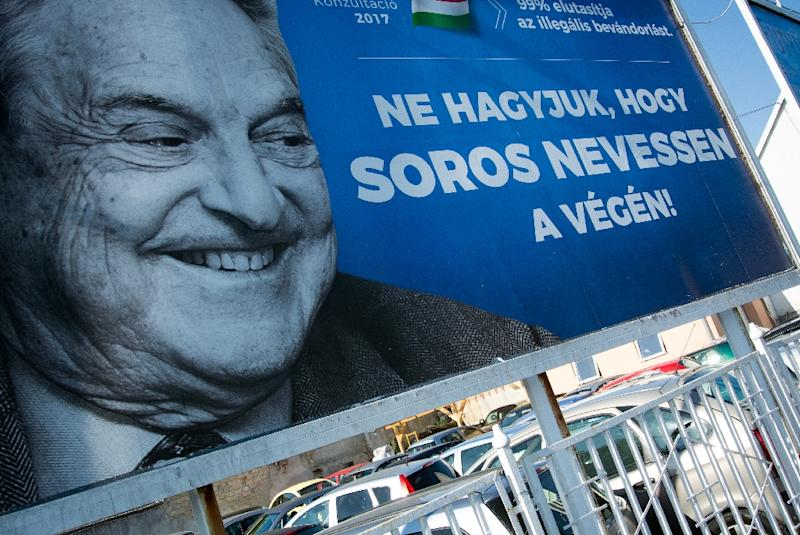 """Hungary's largest Jewish organisation has urged the government to scrap a """"poisonous"""" poster campaign targeting US billionaire George Soros, saying it is stoking anti-Semitic sentiment"""