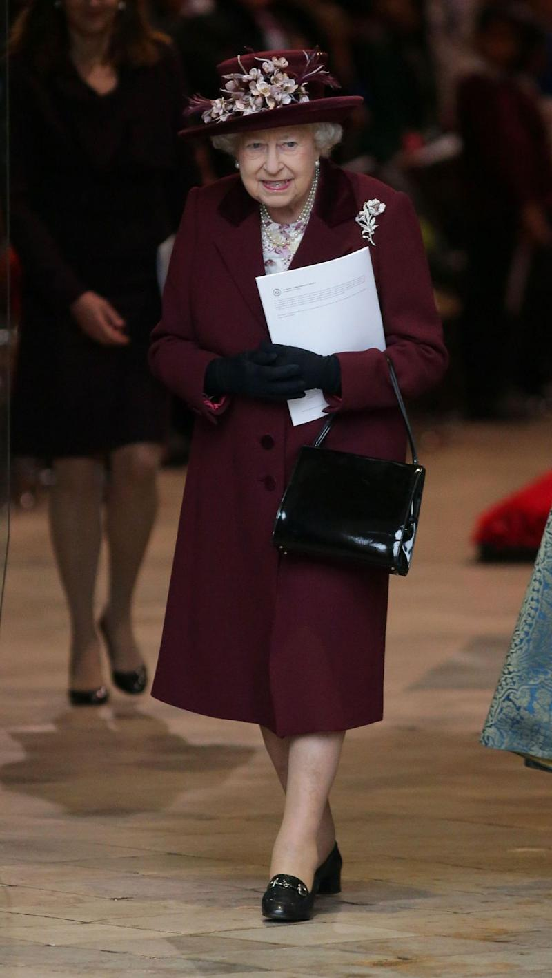 The Queen was celebrating Commonwealth Day. Photo: Getty Images