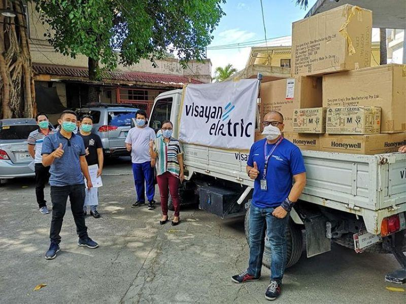 Aboitiz Group continues Covid-19 recovery efforts in Cebu, Visayas