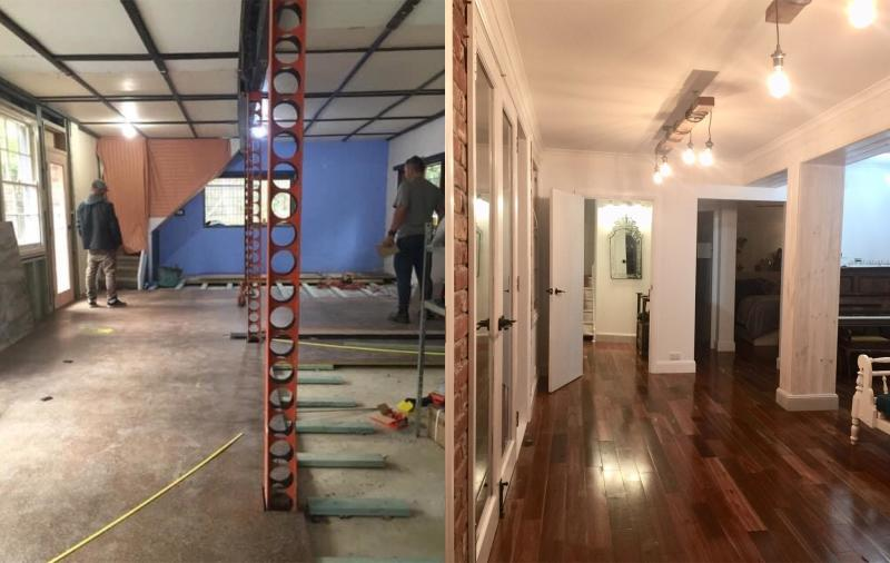 Tudor house renovation before and after