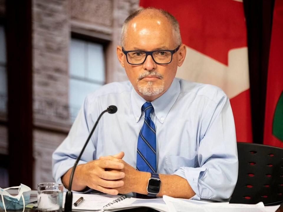 Dr. Kieran Moore says family doctors are now expected to see patients in person. (Chris Young/The Canadian Press - image credit)
