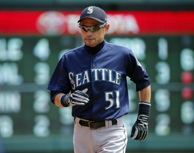 The Seattle Mariners announced Thursday Ichiro would be taken off the roster and added to the front office. (AP)