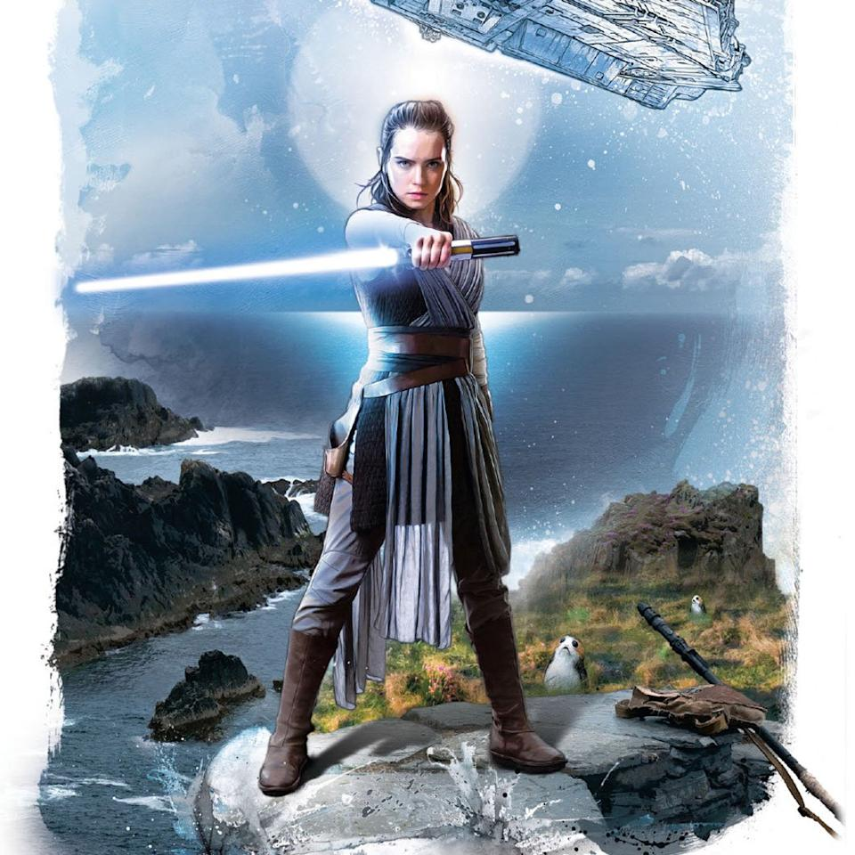<p>Po-Zu has worked closely with LucasFilm to produce a new boot based on Rey's costume in the upcoming 'The Last Jedi'. They go on sale in November. (Po-Zu) </p>