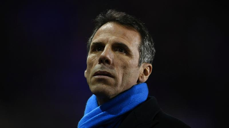 'Zola came close to being appointed Inter coach '