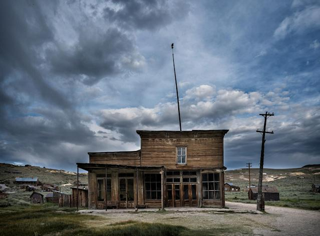 <p>In Bodie's case, it's amazing how well preserved it is, how unique it is to have a whole town in arrested decay, and how breathtaking the scenery is. (Photo: Matthew Christopher — Abandoned America/Caters News) </p>