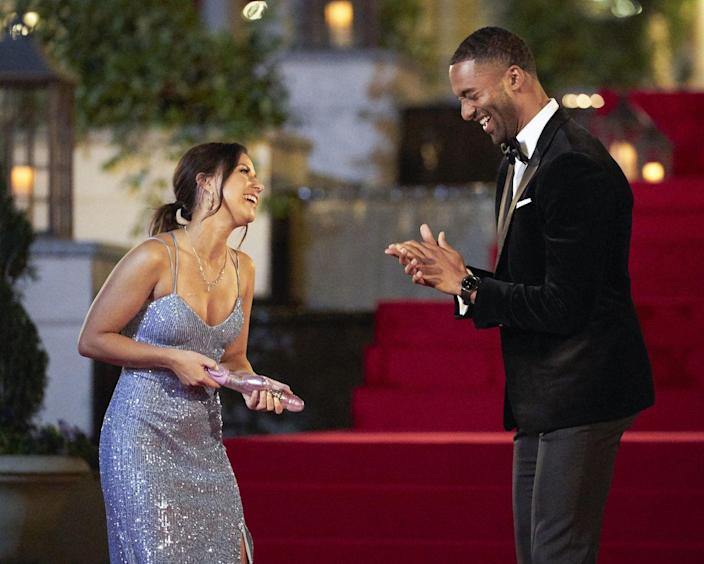 """<p>It's literally part of Chris Harrison's job to make things as awkward as possible. """"I relish, and maybe it's because I've been a part of this so long, I really enjoy awkward moments,"""" he told <a href=""""https://abcnews.go.com/2020/Bachelor/bachelor-scenes-secrets-casting-grooming/story?id=10042211"""" rel=""""nofollow noopener"""" target=""""_blank"""" data-ylk=""""slk:ABC"""" class=""""link rapid-noclick-resp""""><em>ABC</em></a>. """"I mean, I love creating them, I like seeing how people react. I don't mind it at all.""""</p>"""