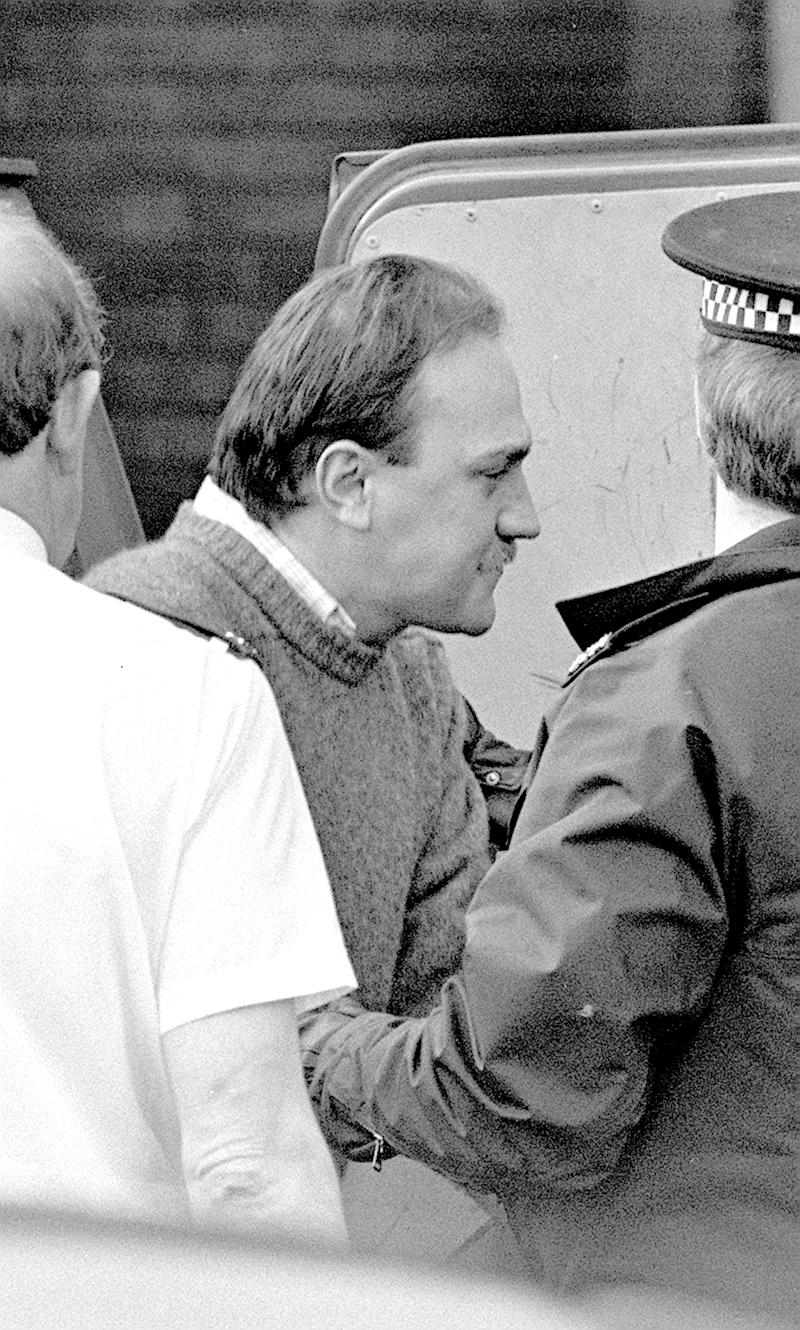 File photo dated 15/02/88 of Ian Simms. The mother of a 22-year-old insurance clerk murdered in 1988 has asked judges to quash a Parole Board decision to release her daughter's killer. Marie McCourt says Simms has never revealed where Helen McCourt's body is hidden.