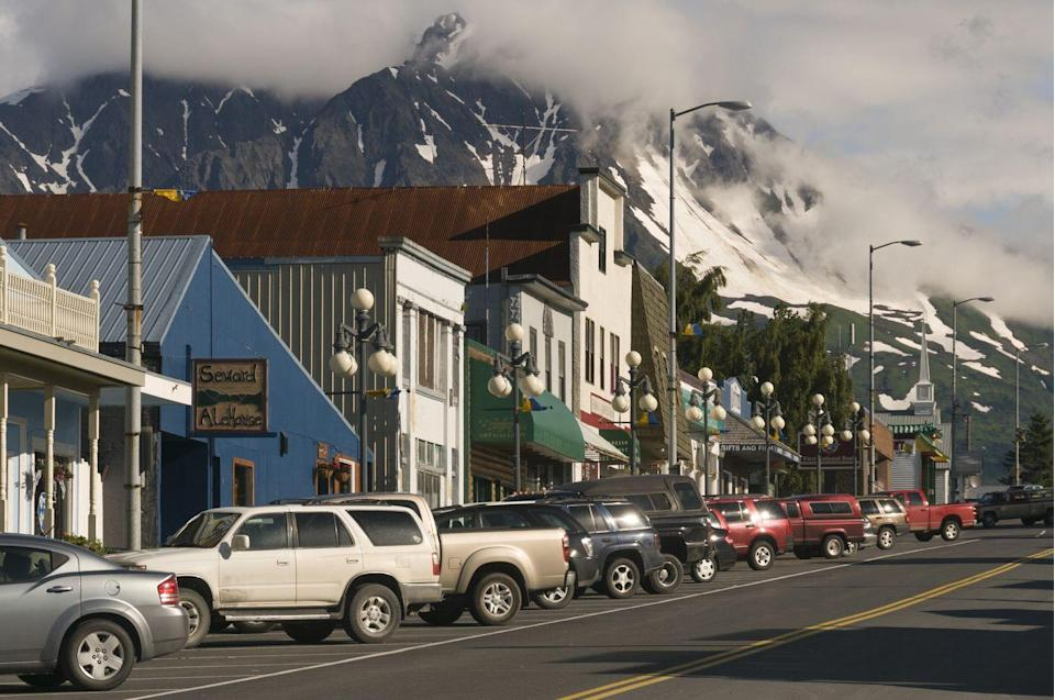 <p>Sweard is home to one of the oldest and most picturesque Main Streets in Alaska. </p>