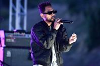 <p>Miguel performed during the Rock 'N' Relief livestream series in Los Angeles.</p>