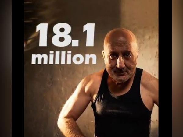 A still from the video featuring Anupam Kher (Image courtesy: Twitter)