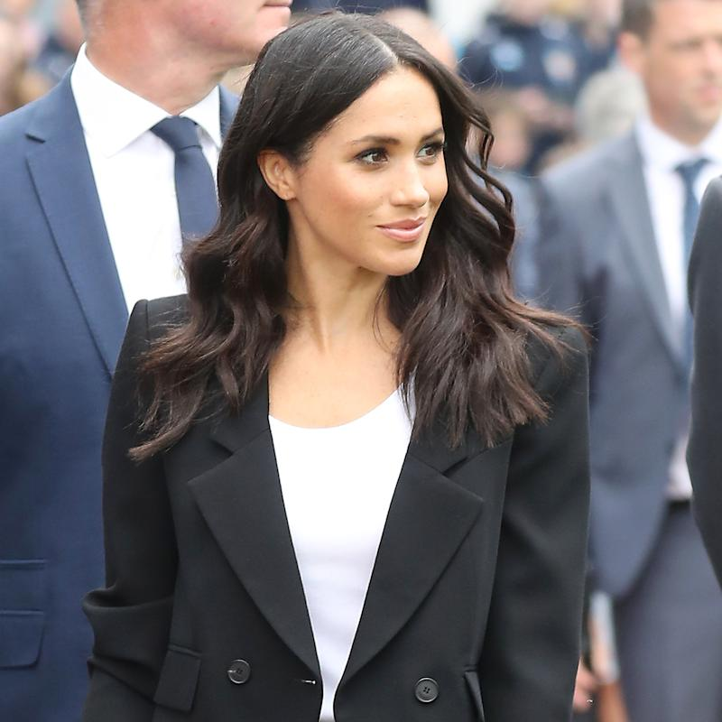 Only Meghan Markle Could Make a Preppy-Chic Beauty Trend Look This Good at Wimbledon