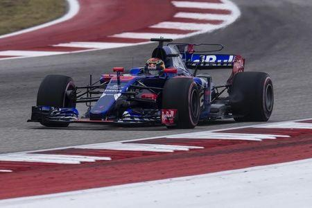 FILE PHOTO: Oct 20, 2017; Austin, TX, USA; Toro Rosso driver Brendon Hartley (39) of New Zealand during practice for the United States Grand Prix at Circuit of the Americas. Mandatory Credit: Jerome Miron-USA TODAY Sports