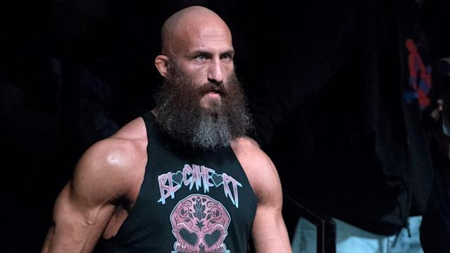 Tommaso Ciampa is seen during an episode of NXT. (Photo courtesy of WWE)