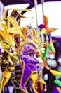 "<p>Masks were first worn at Mardi Gras celebrations so that wearers could mingle with anyone, regardless of class. Today, the tradition holds strong. Those on floats are actually <a href=""https://www.neworleans.com/events/holidays-seasonal/mardi-gras/essential-guide/"" rel=""nofollow noopener"" target=""_blank"" data-ylk=""slk:legally bound to wear masks"" class=""link rapid-noclick-resp"">legally bound to wear masks</a> that conceal their identities.</p>"