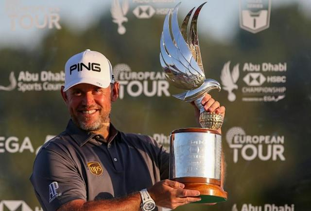 Lee Westwood became the third player on the European Tour to win in four different decades (AFP Photo/-)