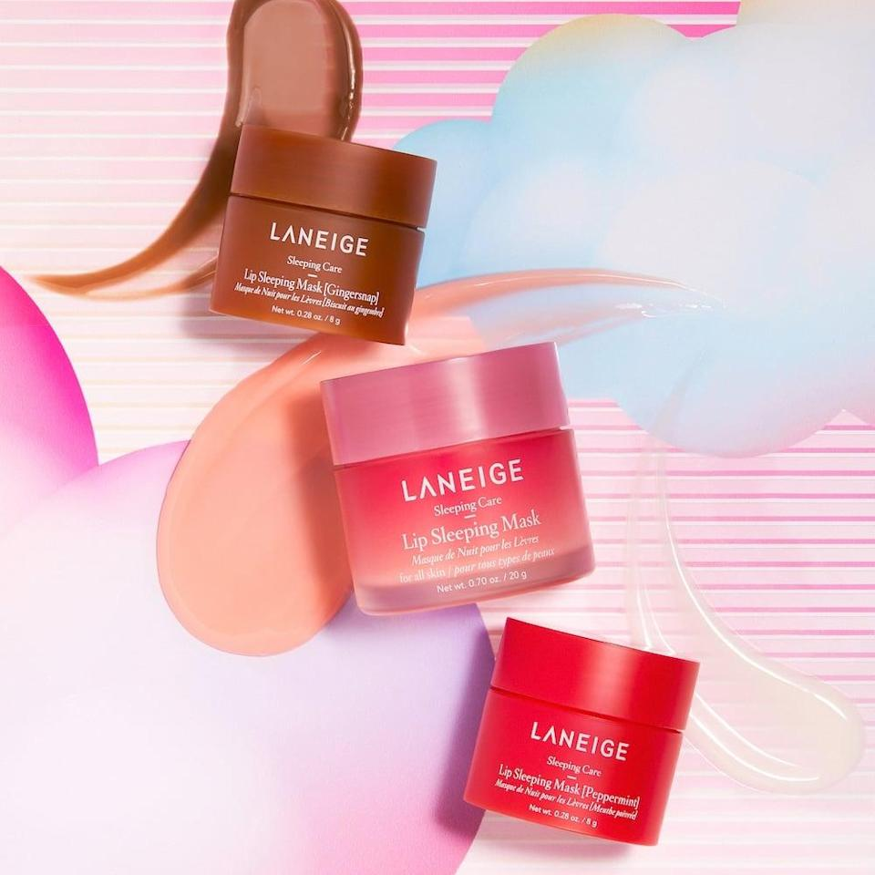 <p>If you're shopping for someone who can't live without lip balm, the <span>Laneige All Nighter Lip Set</span> ($30) is something that they'll put to use immediately. The set comes with the berry flavored lip mask along with two holiday flavors, Gingersnap and Peppermint.</p>