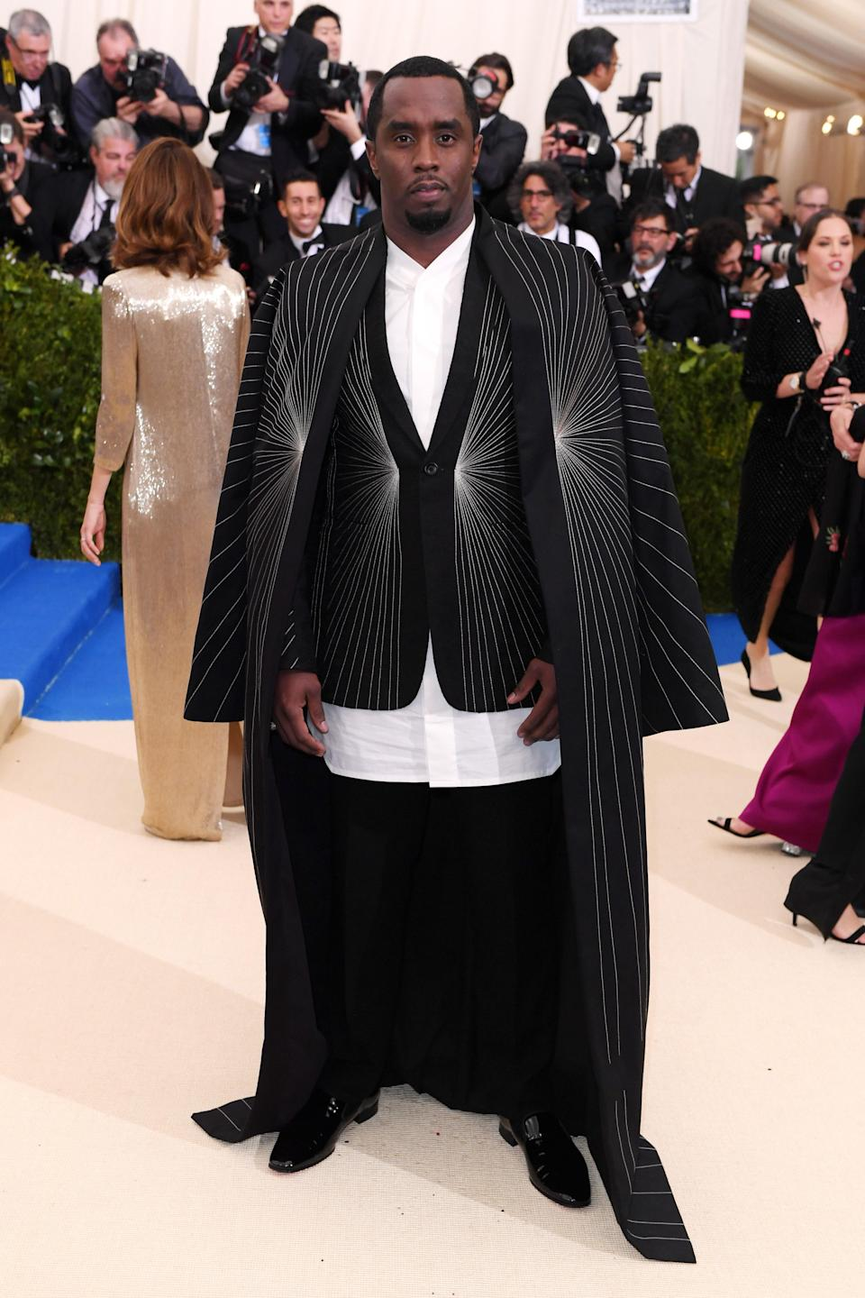 """<h1 class=""""title"""">Sean Combs in Rick Owens and Christian Louboutin shoes</h1> <cite class=""""credit"""">Photo: Shutterstock</cite>"""