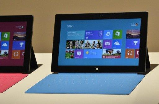 Unconfirmed reports indicate that Google will pull back the curtain on a seven-inch (18-centimeter) tablet made by Taiwan-based Asus and bearing the California Internet titan's Nexus brand name. This tablet may be a response to Microsoft's decision to release a Surface tablet computer, pictured on June 18, powered by new Windows 8 software