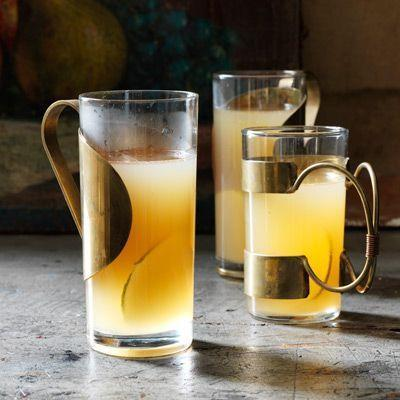 """<p>Served piping hot, this sweet and spicy toddy of sparkling cider, brandy, and orange liqueur is just the thing to warm you up on even the chilliest day.</p><p><em><a href=""""https://www.womansday.com/food-recipes/food-drinks/recipes/a39079/spiked-pear-cider-recipe-clv1012/"""" rel=""""nofollow noopener"""" target=""""_blank"""" data-ylk=""""slk:Get the recipe from Woman's Day »"""" class=""""link rapid-noclick-resp"""">Get the recipe from Woman's Day »</a></em></p>"""